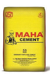 Maha Cement OPC 53 Grade - Hindustan Steel Suppliers