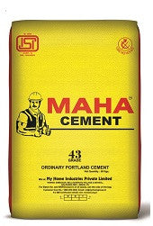 Maha Cement OPC 43 Grade - Hindustan Steel Suppliers