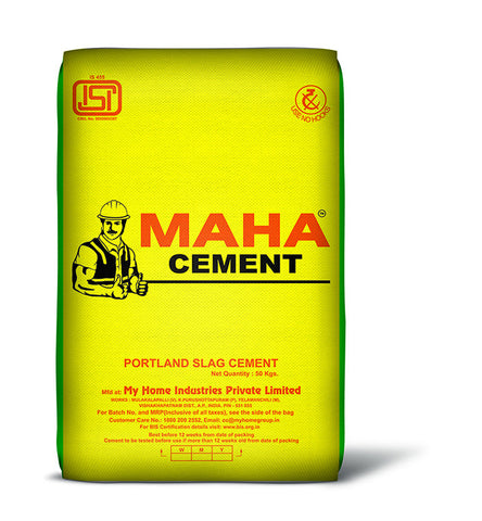 Maha Cement PSC - Hindustan Steel Suppliers