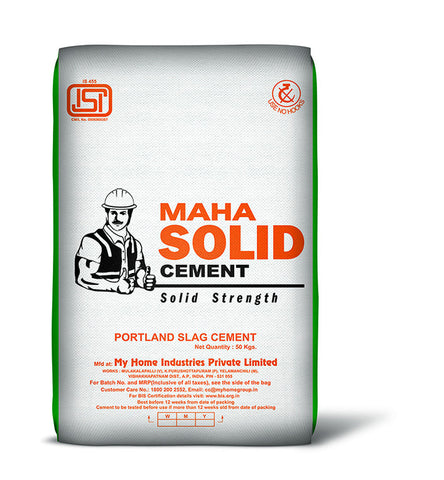 Maha SOLID Cement - Hindustan Steel Suppliers