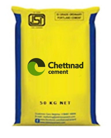 Chettinad OPC 53 Grade Cement - Hindustan Steel Suppliers