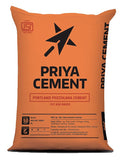 "Buy Priya PPC Cement Online at the Lowest Price from the Authorised Dealers in Bangalore.  Rain Cements Limited (""RCL"") is a leading producer of 3.12 million tons per annum of cement in South India since 1986 at two integrated plants at the following locations. RCL markets cement under the brand ""Priya Cement"" in Andhra Pradesh, Karnataka, Tamil Nadu and Maharashtra. RCL is self-sufficient in all critical raw materials consisting of limestone, power and coal. RCL is also has Fly Ash Handling Unit at BTPS, B"