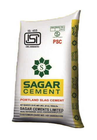 Sagar PPC Cement - Hindustan Steel Suppliers