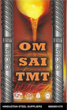 OmSai TMT ISI Fe 500 Grade - Hindustan Steel Suppliers