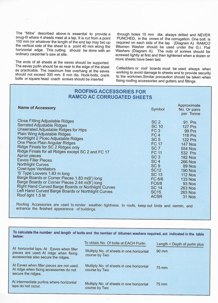 Ramco Cement Sheets Price List | Ramco Cement Sheet Price in ...