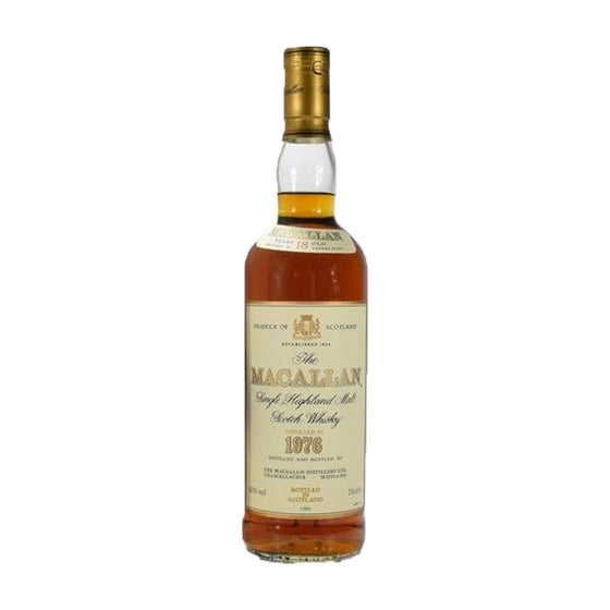 Macallan 1976 18 Years - The Whisky Shop Singapore