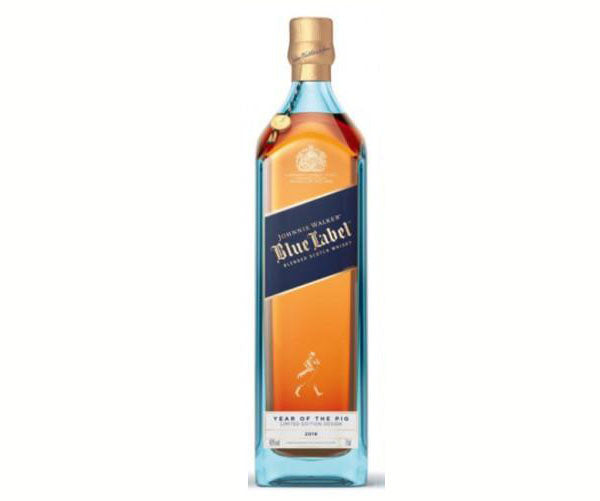 Johnnie Walker Blue Label - Year of the PIG (75cl) FREE WHISKY BIBLE WHEN SPEND ABOVE $300 - The Whisky Shop Singapore