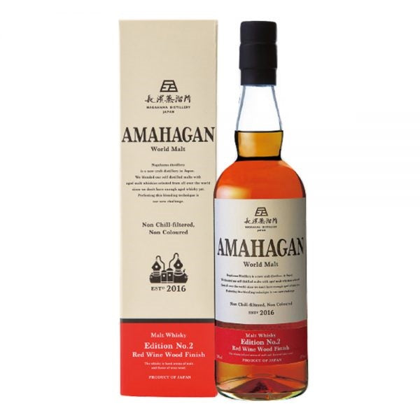 AMAHAGAN World Malt Whisky – Edition No.2 Red Wine Wood Finish