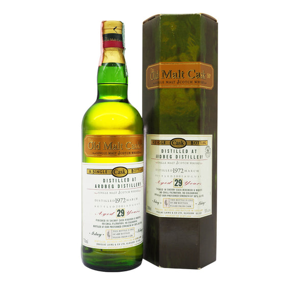 Ardbeg 1972 29 Years Douglas Laing - Old Malt Cask - The Whisky Shop Singapore