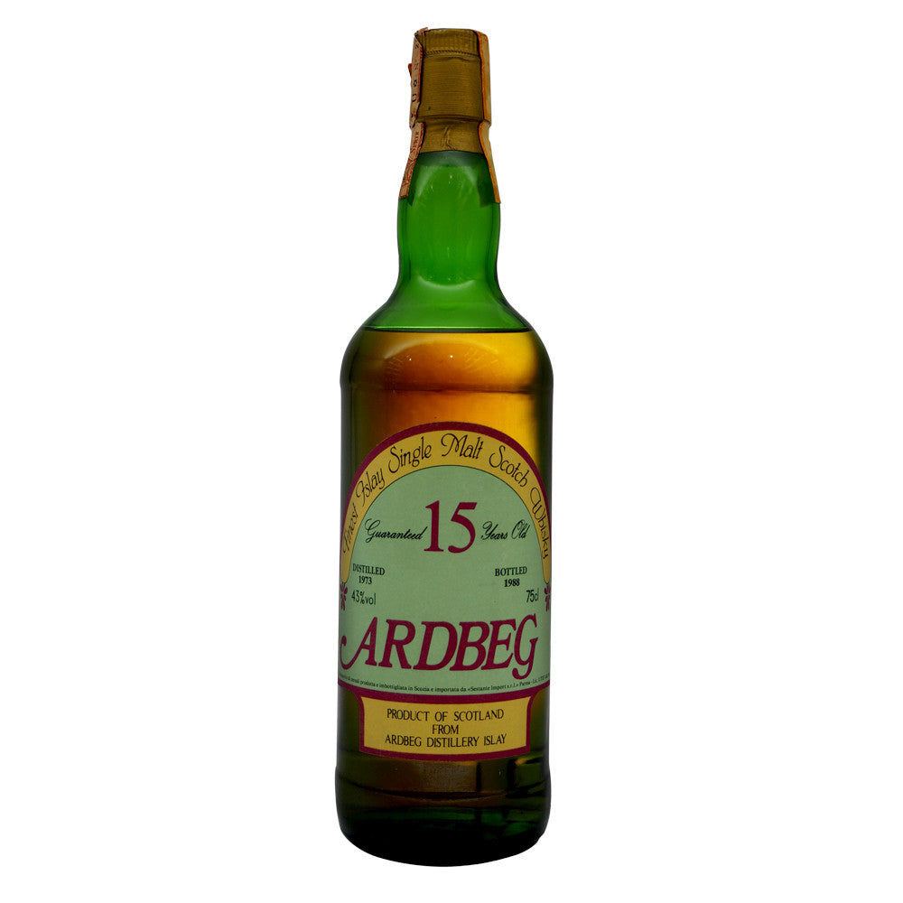 Ardbeg 1973 15 Years Sestante ABV 43% - The Whisky Shop Singapore