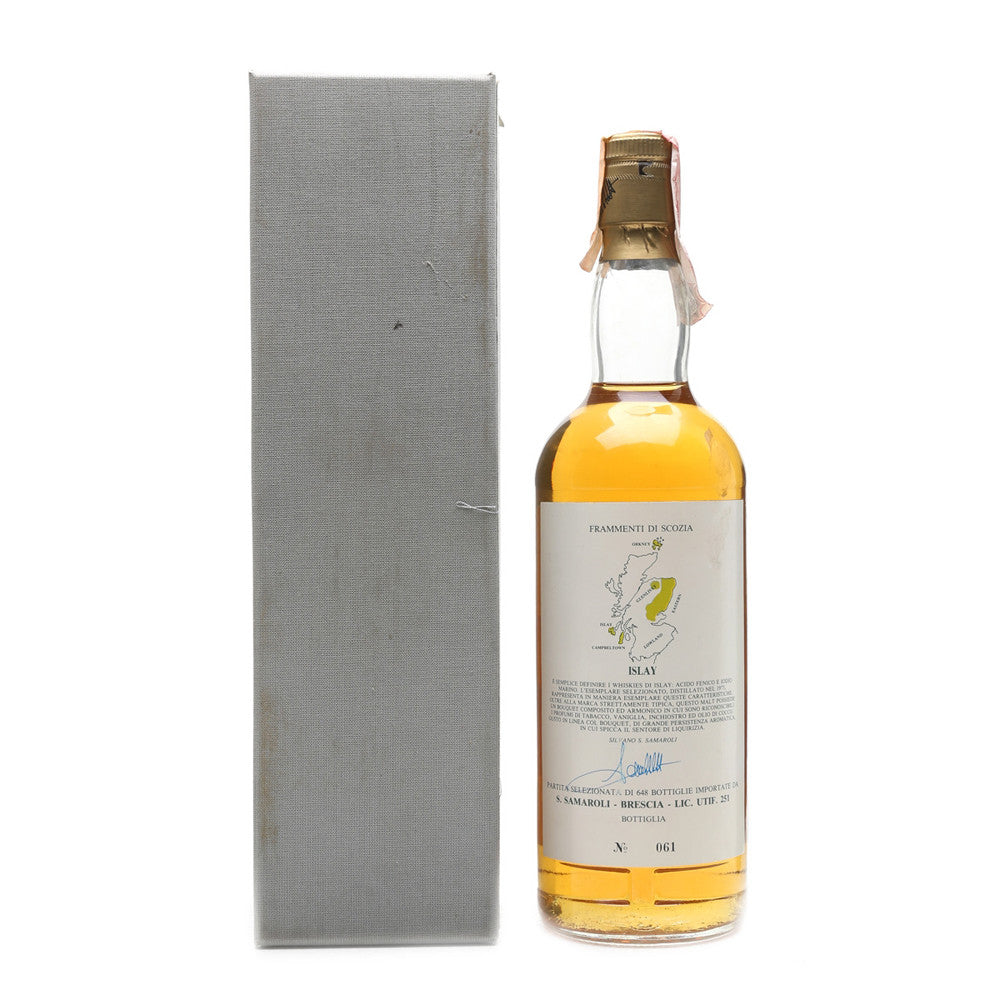 Ardbeg 1973 Samaroli - Fragments of Scotland - The Whisky Shop Singapore