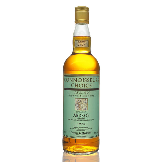 Ardbeg 1974 Gordon & Macphail Connoisseurs Choice (Bot. 1997) - The Whisky Shop Singapore