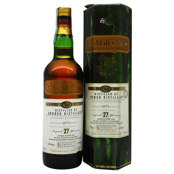 Ardbeg 1975 27 Years Douglas Laing - Old Malt Cask - The Whisky Shop Singapore