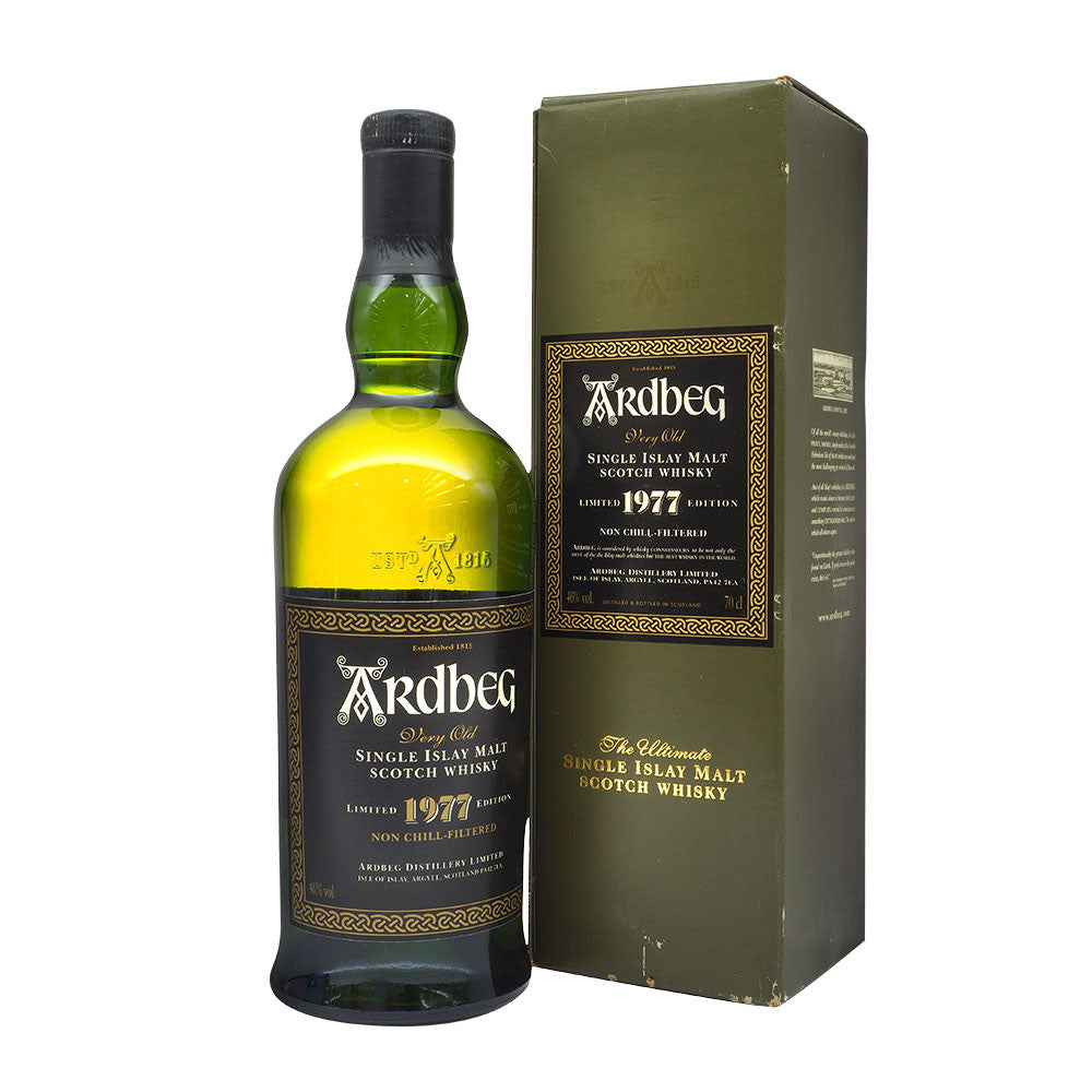 Ardbeg 1977 Limited Edition - Bottle 2 - The Whisky Shop Singapore