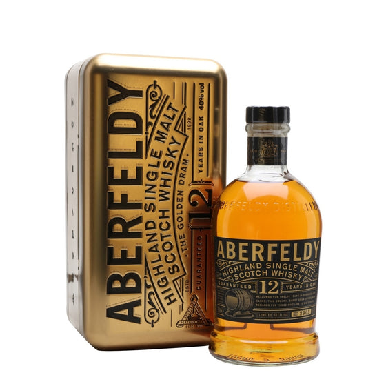 Aberfeldy 12 Year with Tin Box