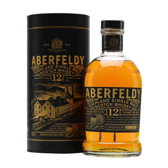 Aberfeldy 12 Year - The Whisky Shop Singapore