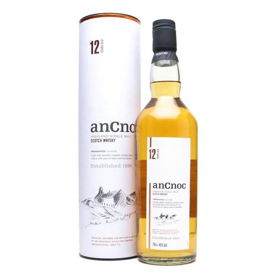 Ancnoc 12 Years 700ml with box - The Whisky Shop Singapore