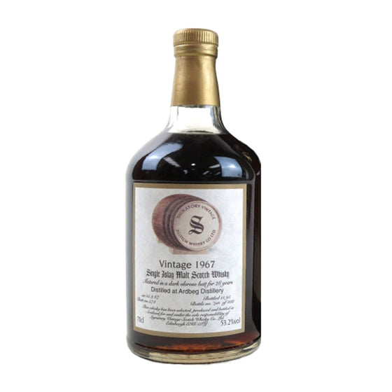 Ardbeg 1967 Signatory Vintage 28 Year Old - The Whisky Shop Singapore