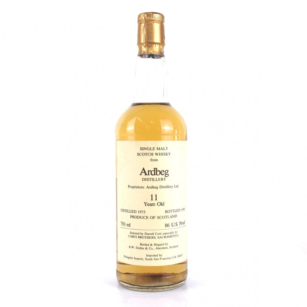 Ardbeg 1975 11 Years Duthie - Corti Brothers - The Whisky Shop Singapore