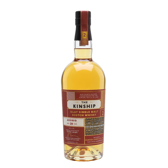 Ardbeg 1992 The Kinship 28 Years Old Fourth Release
