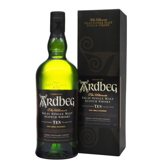 Ardbeg 10 Years 700ml with box - The Whisky Shop Singapore