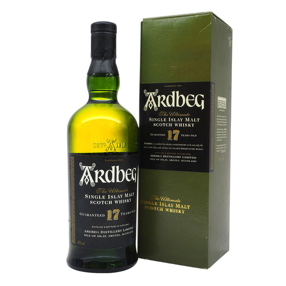Ardbeg 17 Years - Discontinued - The Whisky Shop Singapore