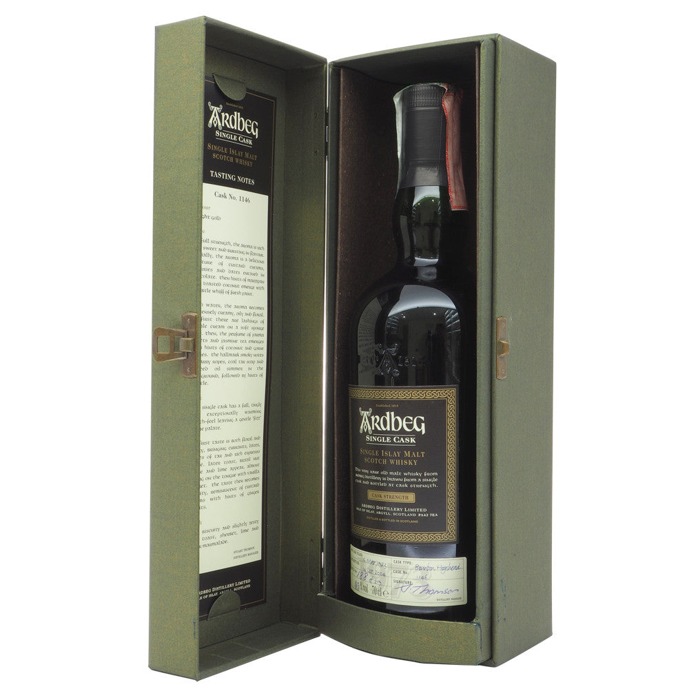Ardbeg 1973 32 Years - Single Cask #1146 - The Whisky Shop Singapore