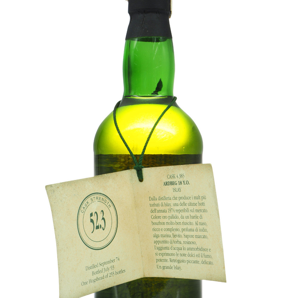 Ardbeg 1974 18 Years Wilson & Morgan - The Whisky Shop Singapore