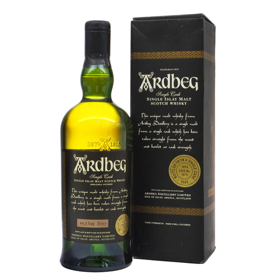 Ardbeg 1974 28 Years - Single Cask #3475 - The Whisky Shop Singapore