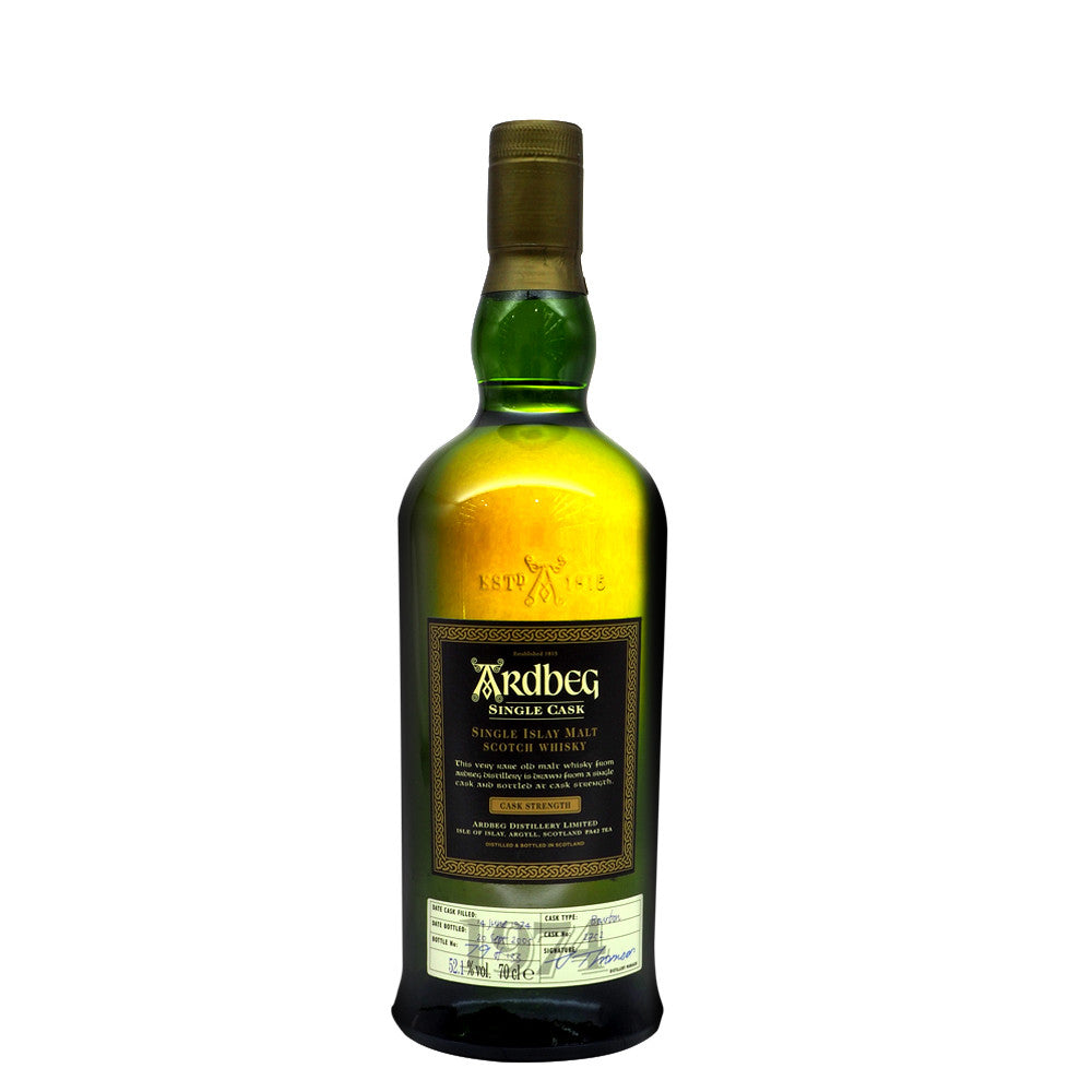 Ardbeg 1974 31 Years Cask 2752 - The Whisky Shop Singapore