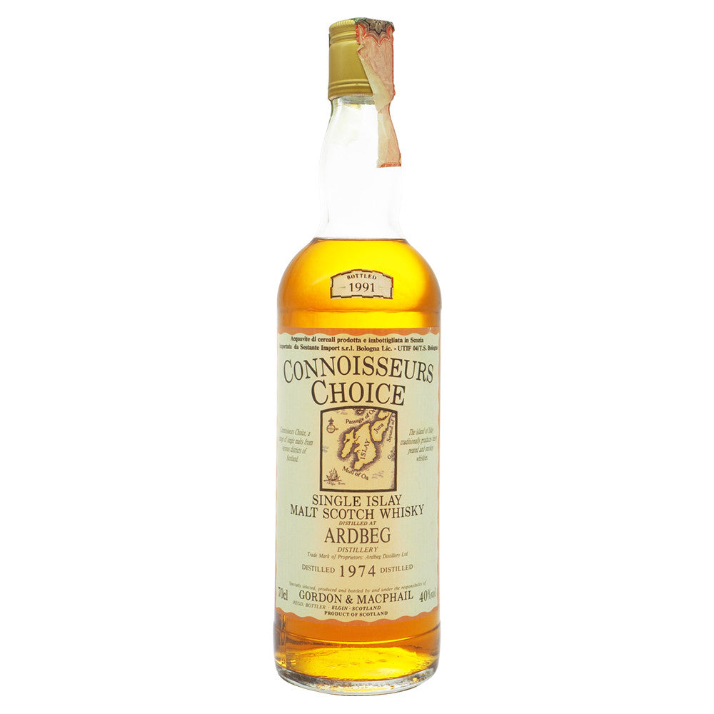 Ardbeg 1974 Gordon & Macphail - Connoisseurs Choice (Bot. 1991) - The Whisky Shop Singapore