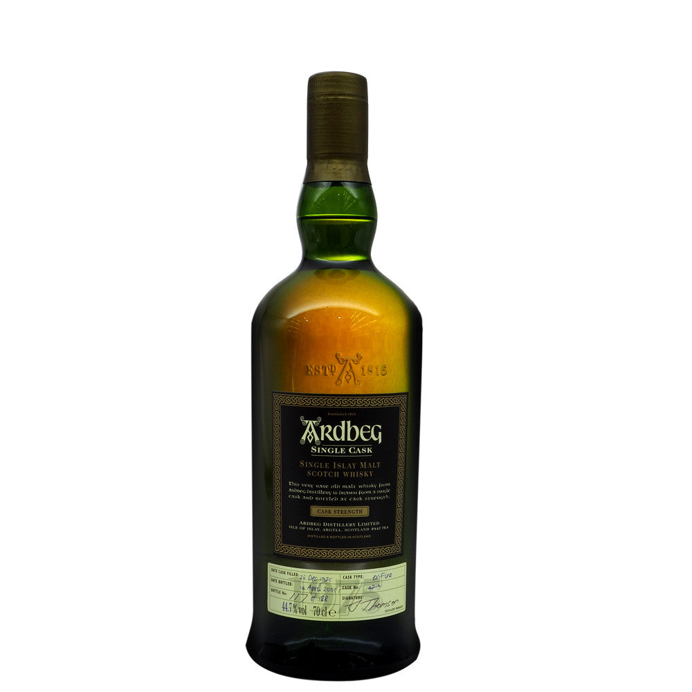 Ardbeg 1975 29 Years - Single Cask #4719 - The Whisky Shop Singapore