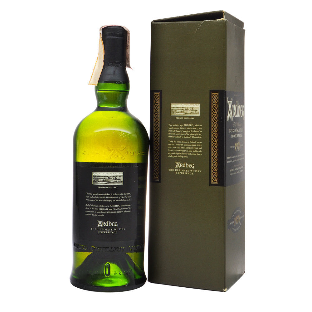 Ardbeg 1978 - Limited Edition - Bottle 2 - The Whisky Shop Singapore
