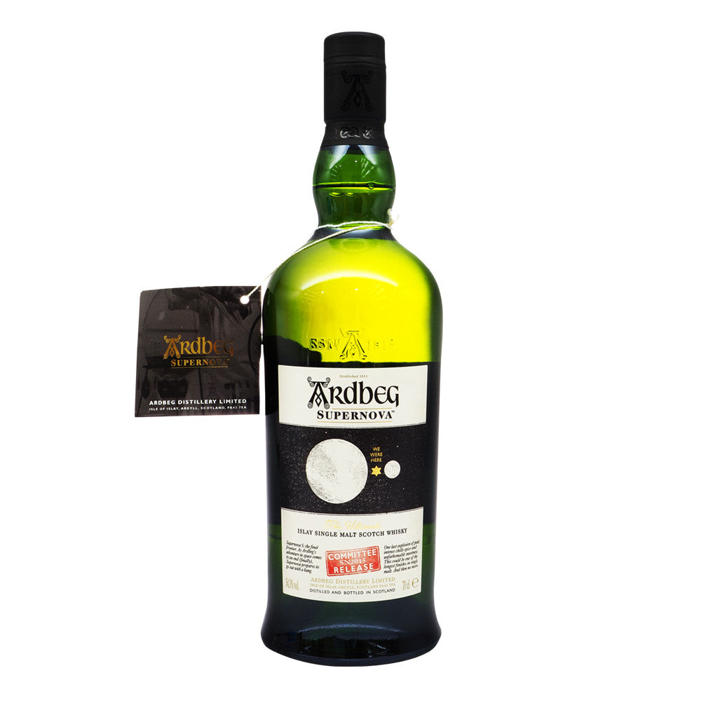 Ardbeg Supernova - SN2015 Committee Release - The Whisky Shop Singapore