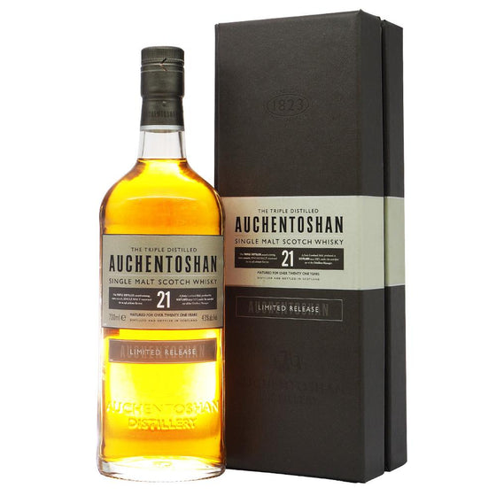 Auchentoshan 21 Years - The Whisky Shop Singapore