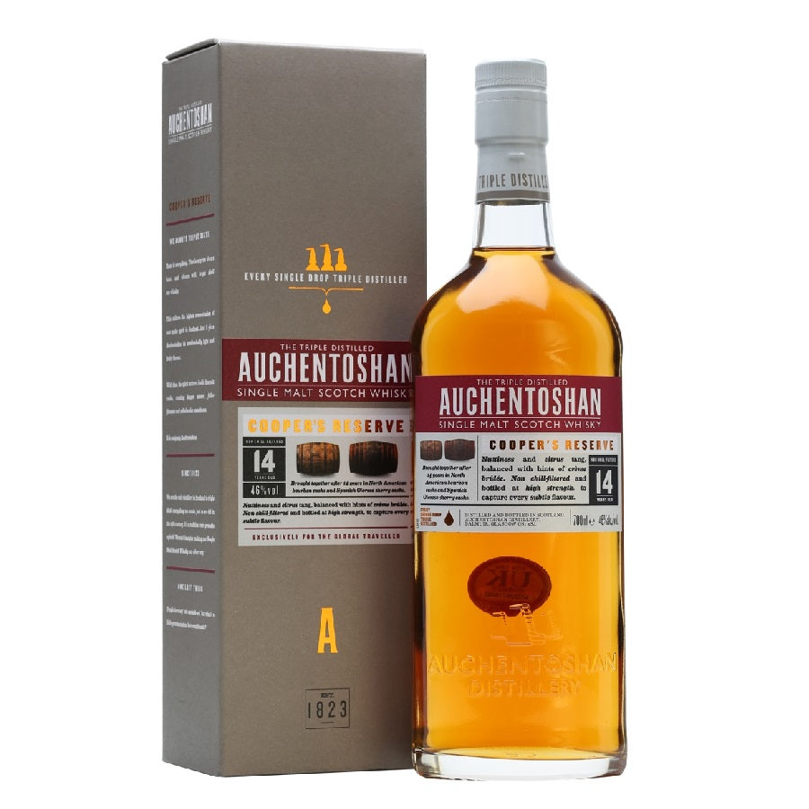 Auchentoshan Cooper's Reserve - The Whisky Shop Singapore