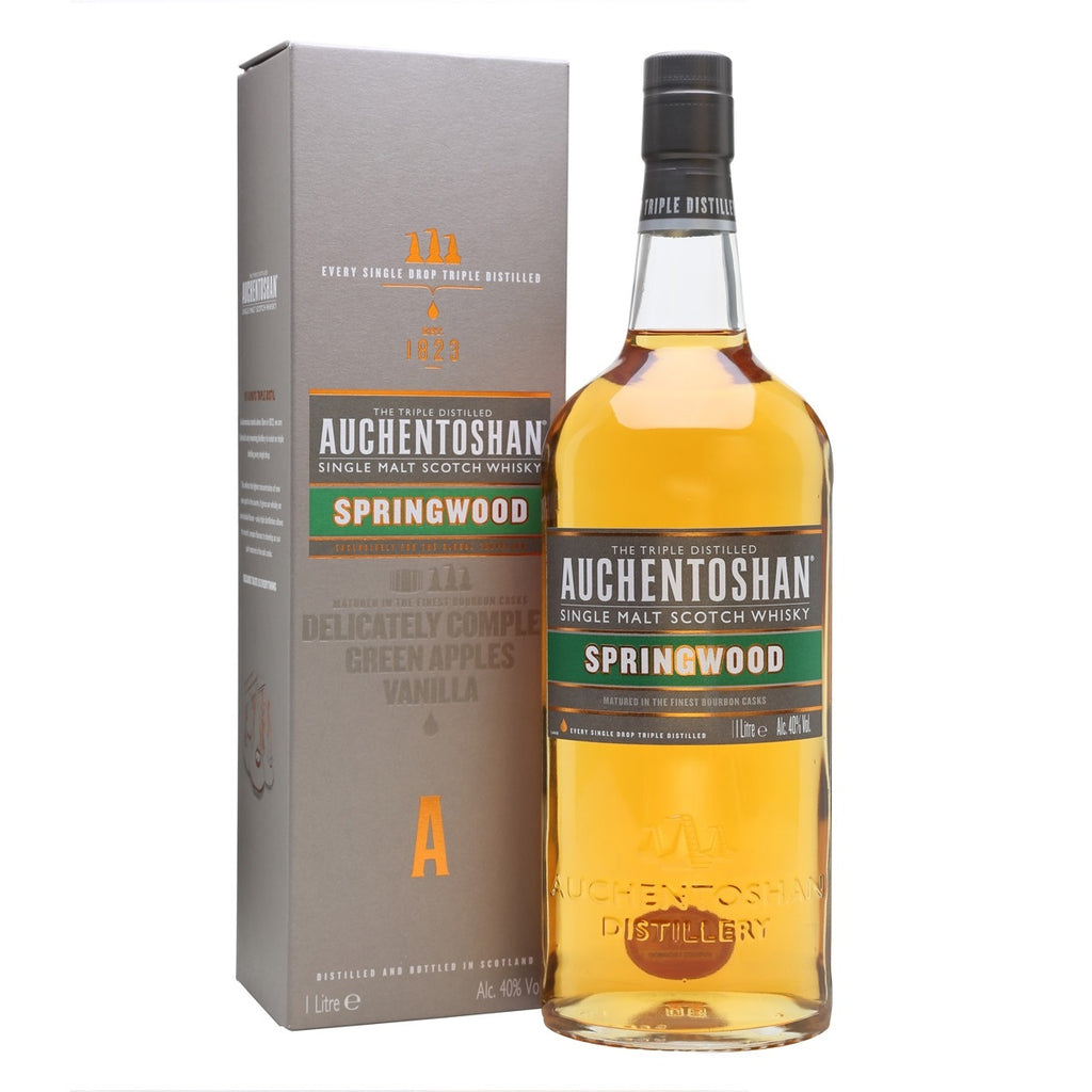 Auchentoshan Springwood 1L - The Whisky Shop Singapore