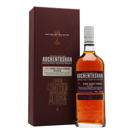 Auchentoshan 1988 25 Years - Wine Cask Finish - The Whisky Shop Singapore
