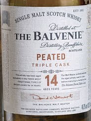 Balvenie 14 Year Peated Triple Cask - The Whisky Shop Singapore