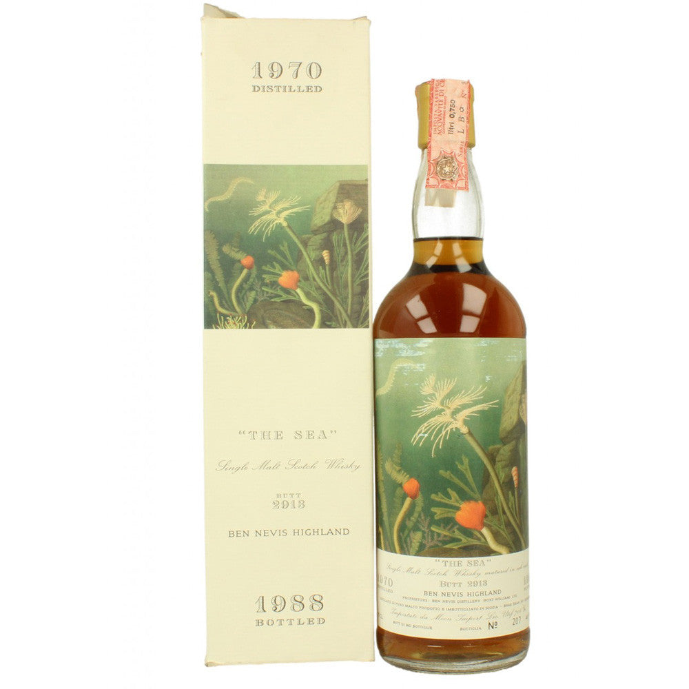 Ben Nevis 1970 Moon Import - The Sea - The Whisky Shop Singapore