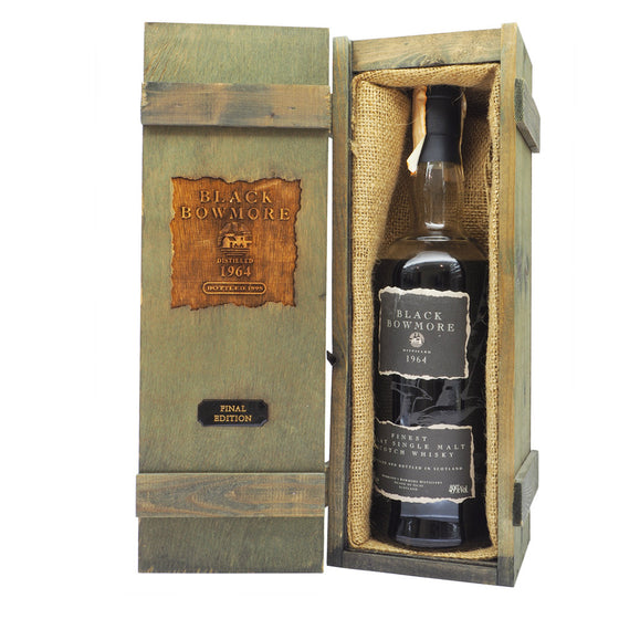 Black Bowmore 1964 31 Years Third Edition - Bottle 2 - The Whisky Shop Singapore