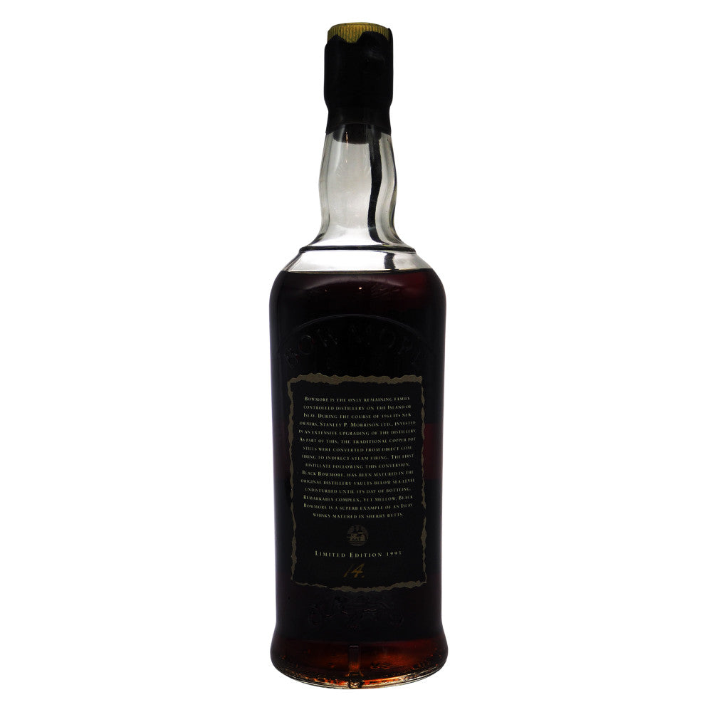 Black Bowmore 1964 29 Years - First Edition - The Whisky Shop Singapore