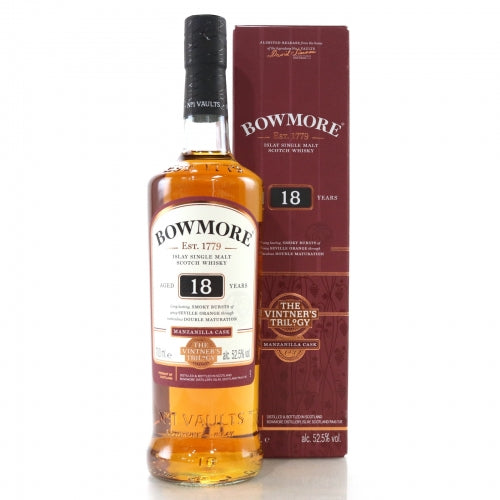 Bowmore 18 Year Old Vintner's Trilogy - The Whisky Shop Singapore