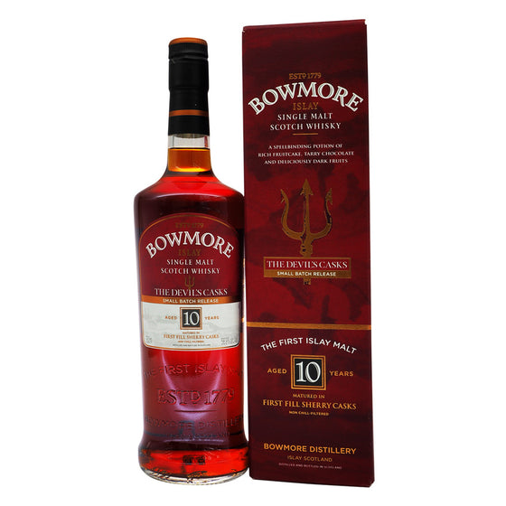 Bowmore 10 Years - The Devil's Casks Batch I - The Whisky Shop Singapore
