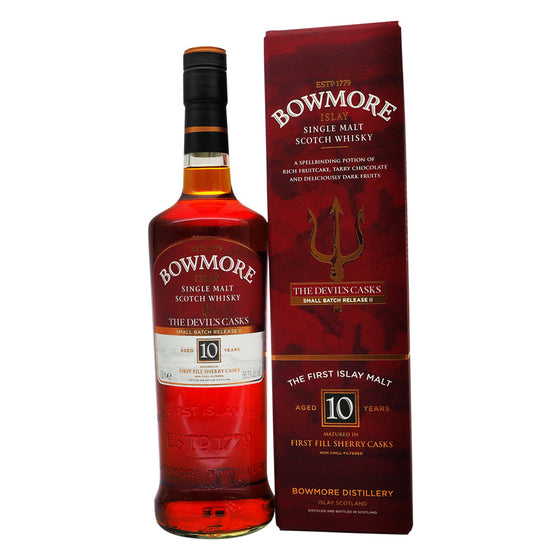 Bowmore 10 Years - The Devil's Casks II - The Whisky Shop Singapore