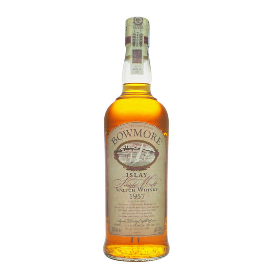 Bowmore 1957 38 Years - The Whisky Shop Singapore