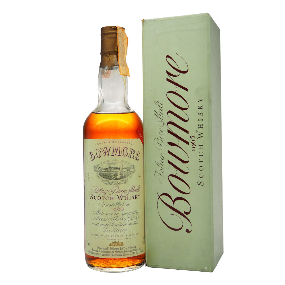 Bowmore 1965 - Soffiantino (Bot. 1980s) - The Whisky Shop Singapore