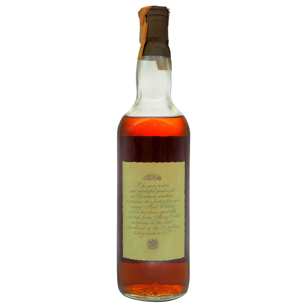 Bowmore 1965 - Soffiantino (Bot. 1980s) No Box - The Whisky Shop Singapore