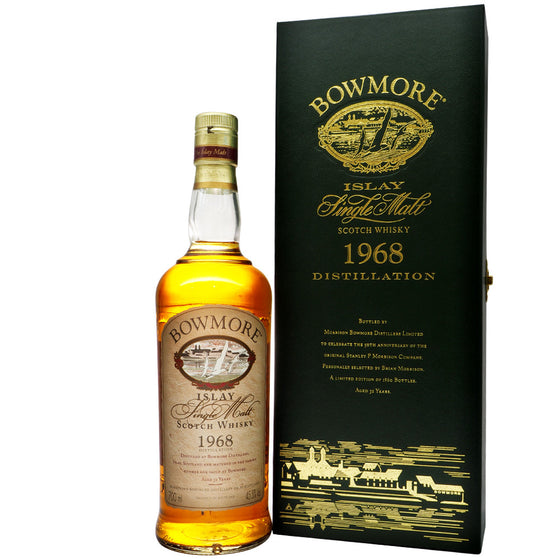 Bowmore 1968 32 Years - 50th Anniversary Edition - The Whisky Shop Singapore