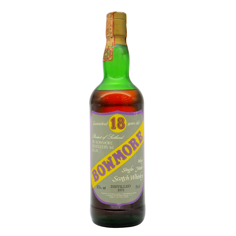 Bowmore 1971 18 Years Sestante (ABV 57.1%) - The Whisky Shop Singapore